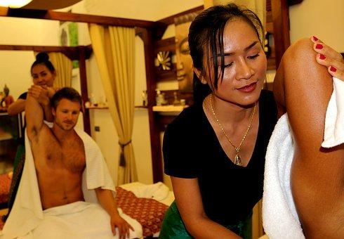 Vášnivá masáž