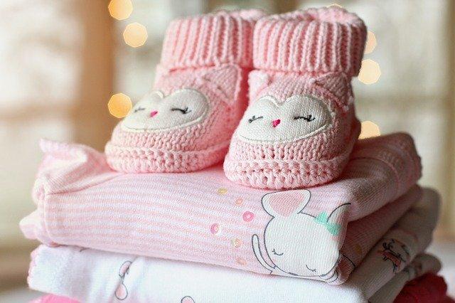 růžové botičky