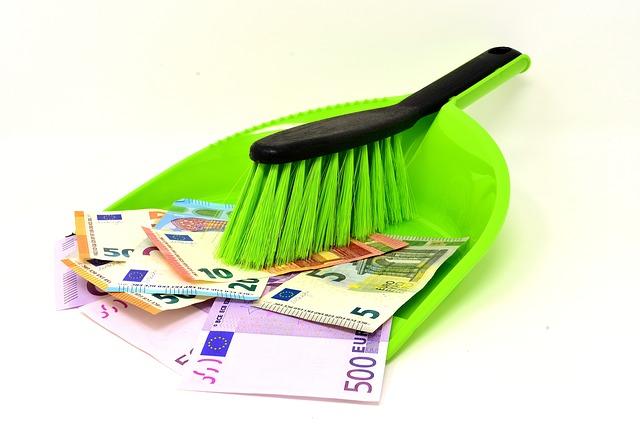 peněz jako smetí